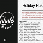 FREE Fitness Classes Until Christmas Eve