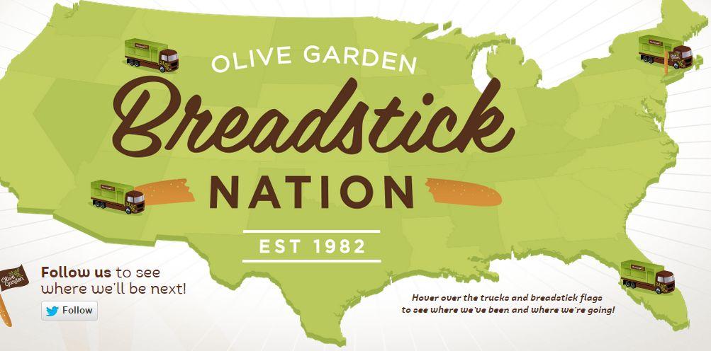 Free Olive Garden Breadstick Sandwiches Salt Lake City