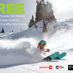 Rent Free Rossignol Powder Skis on Monster Dumps at Ski'N See