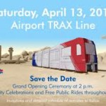 FREE Trax Rides and Food for Airport Line Celebration