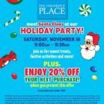 FREE Holiday Party at The Children's Place