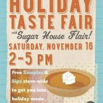 FREE Holiday Taste Fair at Whole Foods Sugarhouse