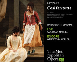 Win FREE Tickets to The Met: Cosi Fan Tutte