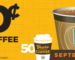 50 Cent Coffee at 7-Eleven