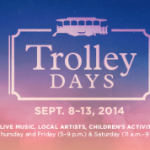 Trolley Days September 11-13