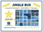 FREE Jingle Bus to Holiday Lights and Shopping